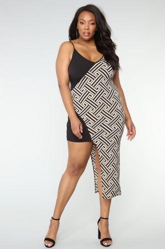 Undecided Asymmetrical Dress